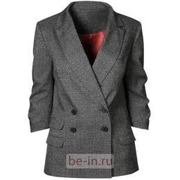Пиджак с коротким рукавом без подклада